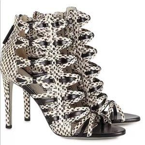 Jason Wu heels snake sandals shoes